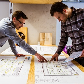 projektowanie przestrzeni handlowych