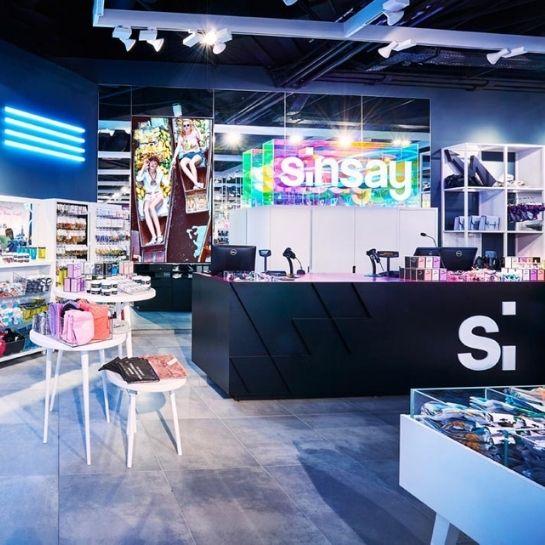 Awyposażenie sklepów Sinsay