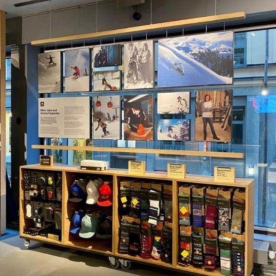 APierwszy sklep marki Burton w Szwecji