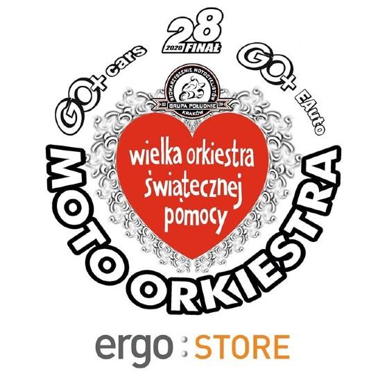 WOŚP 2020:  Ergo Store po raz kolejny sponsorem MotoOrkiestry w Krakowie