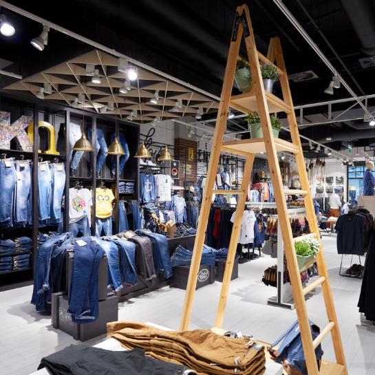 AErgo Store wyprodukowało sklepy czterech marek LPP w Jekaterynburgu